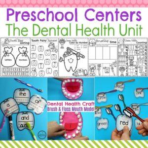 Preschool Dental Health Activities