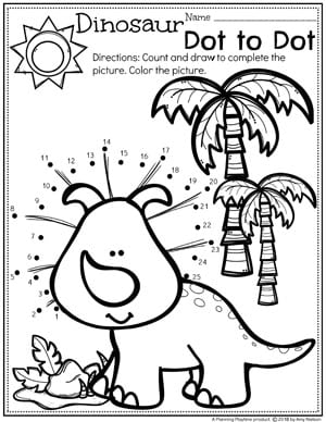 Dinosaur Preschool Theme Planning Playtime