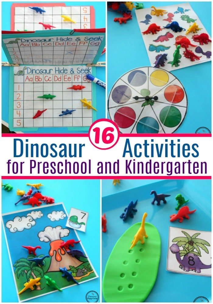 Dinosaur Preschool Theme - Planning Playtime
