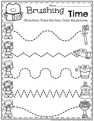 image regarding Dental Health Printable Activities known as Preschool Dental Fitness - Coming up with Playtime