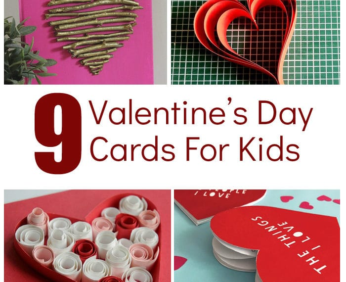 Kids Valentine Projects - Fun Valentine Crafts for kids #valentinesday #preschool #kidscrafts #valentinecrafts