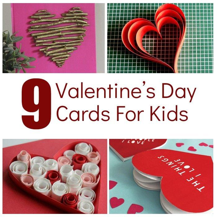 Kids Valentine Projects - Fun Valentine Crafts for kids #valentinesday #preschool #kidscrafts #valentinecrafts