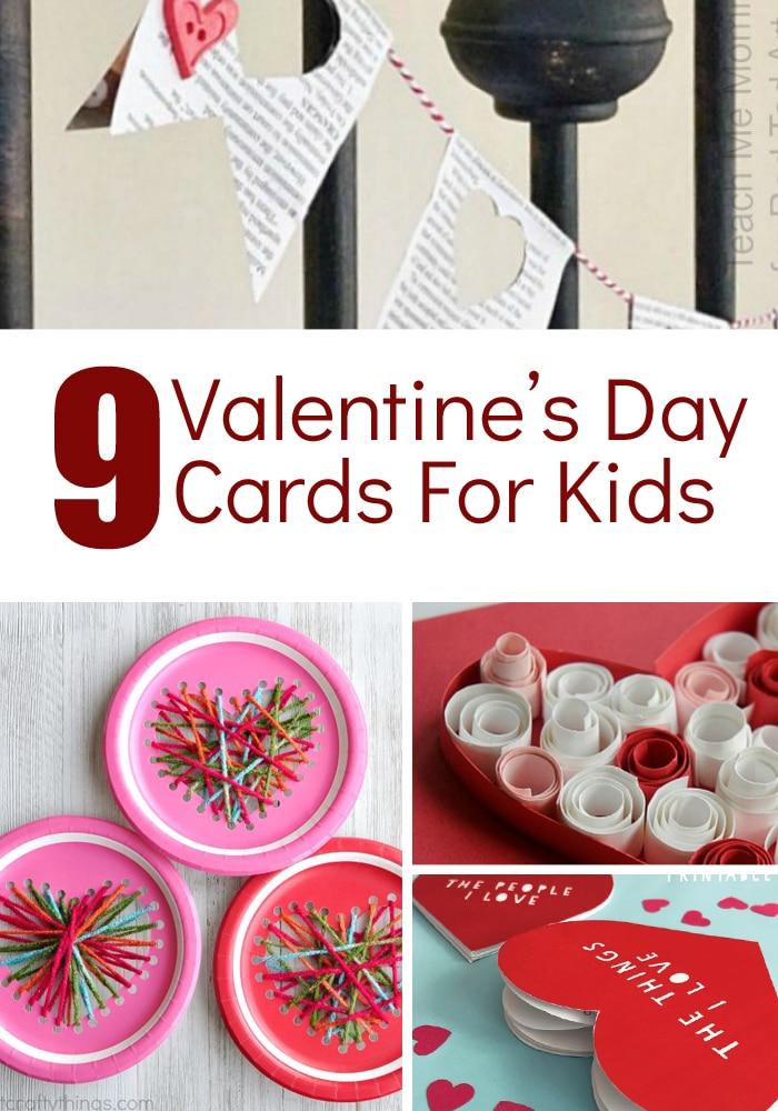 Kids Valentine Projects - Fun Valentine Crafts for kids #valentinesday #kidscrafts #craftsforkids #valentinecrafts