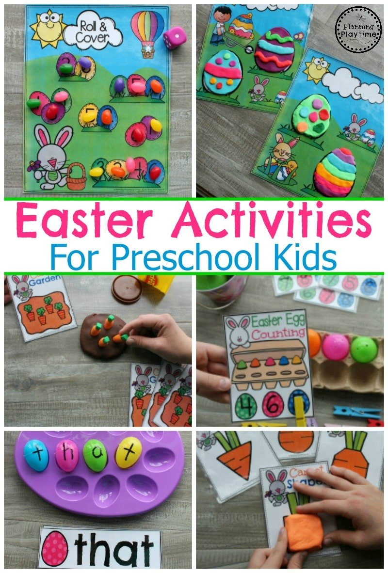Easter Activities for Preschool #easter #preschool #easteractivities #easterpreschool #planningplaytime