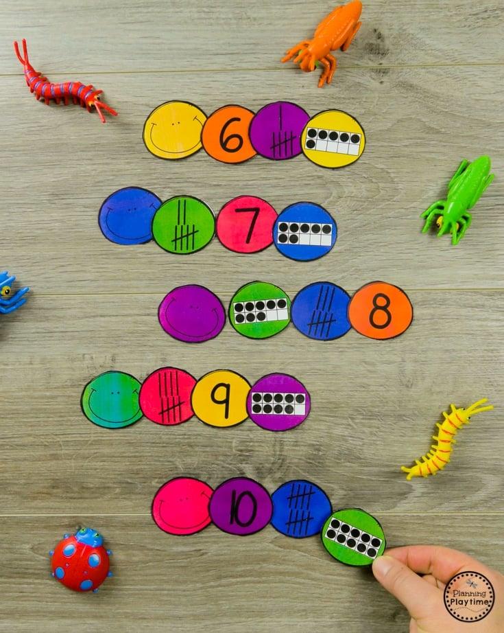 Bug Activities Planning Playtime