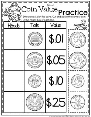 Bae Eb F B C E F Fdc as well Line Segment Ruler Large also Prints X furthermore Jesus Cleanses The Temple Worksheet as well Counting. on cut out coins worksheet