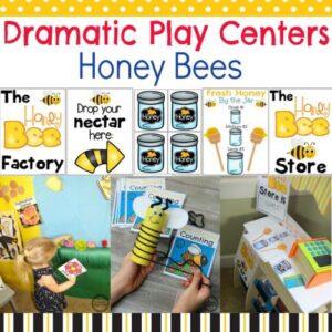 Preschool Dramatic Play Centers - Honey Bees