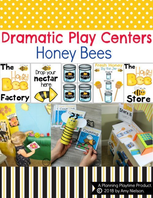 Preschool Dramatic Play Centers - Honey Bees