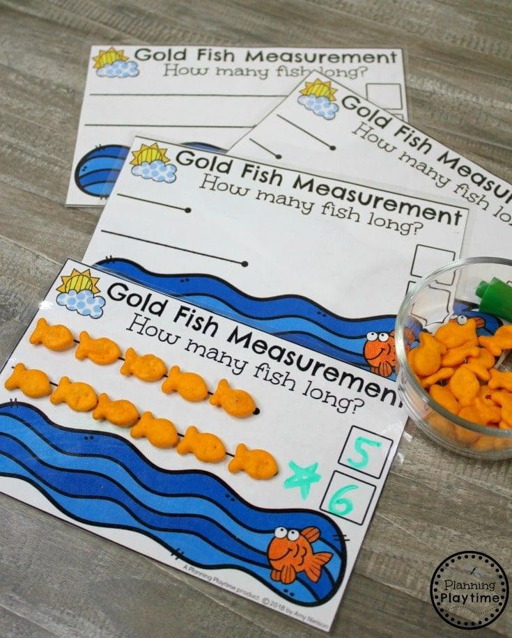 Kindergarten Math - Measurement & Data - Planning Playtime
