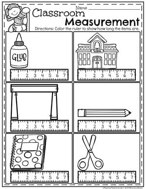 Measurement Worksheets - Planning Playtime