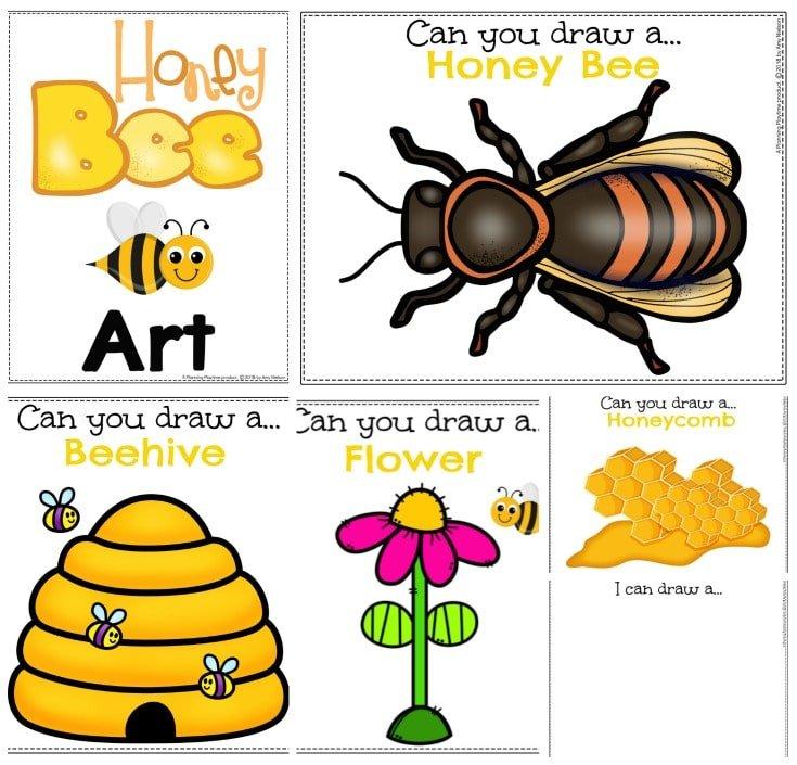 Honey Bee Art