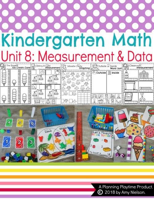 Kindergarten Math Measurement Data Planning Playtime
