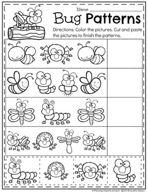 Bug Activities - Planning Playtime