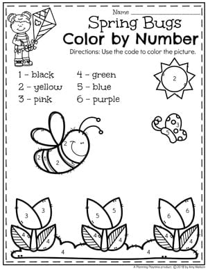 Color purple worksheets for preschool the best and most for Number of pages in the color purple