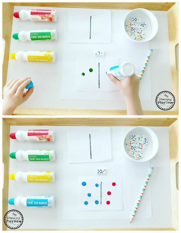 dominoes instructions for kids
