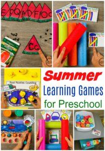 Fun Summer Preschool Activities for Kids #preschool #summerpreschool #preschoolprintables #preschoolcenters #planningplaytime