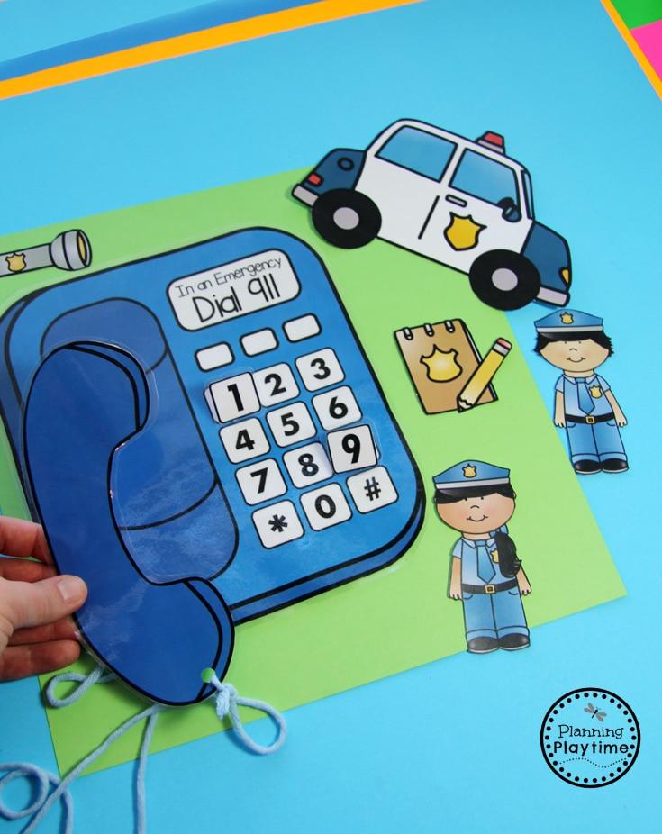 Community Helpers Theme - Preschool - Planning Playtime