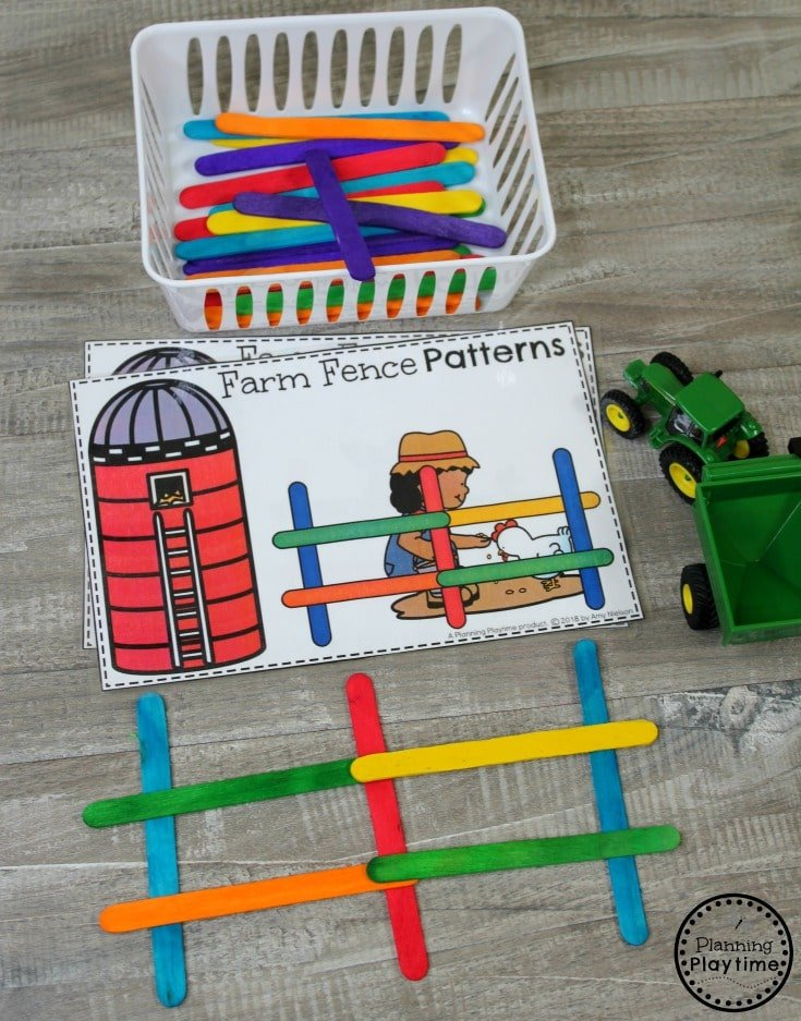 Farm Theme - Preschool - Planning Playtime