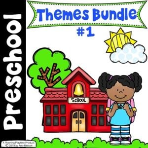 Preschool Units Bundle - 20 FUN Preschool Themes #preschool #planningplaytime