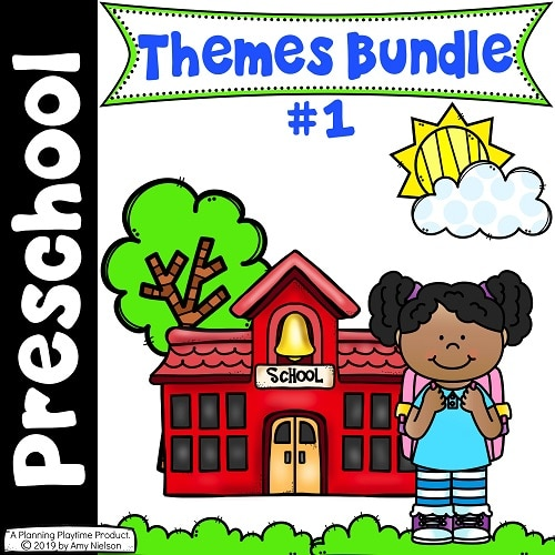 Preschool Units Bundle - 20 FUN Preschool Themes #preschool #planningplaytime