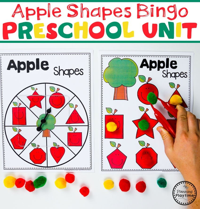 Preschool Apple Theme - Planning Playtime