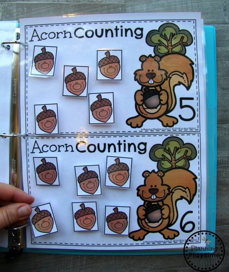 Fun Fall Counting Activities for Kids