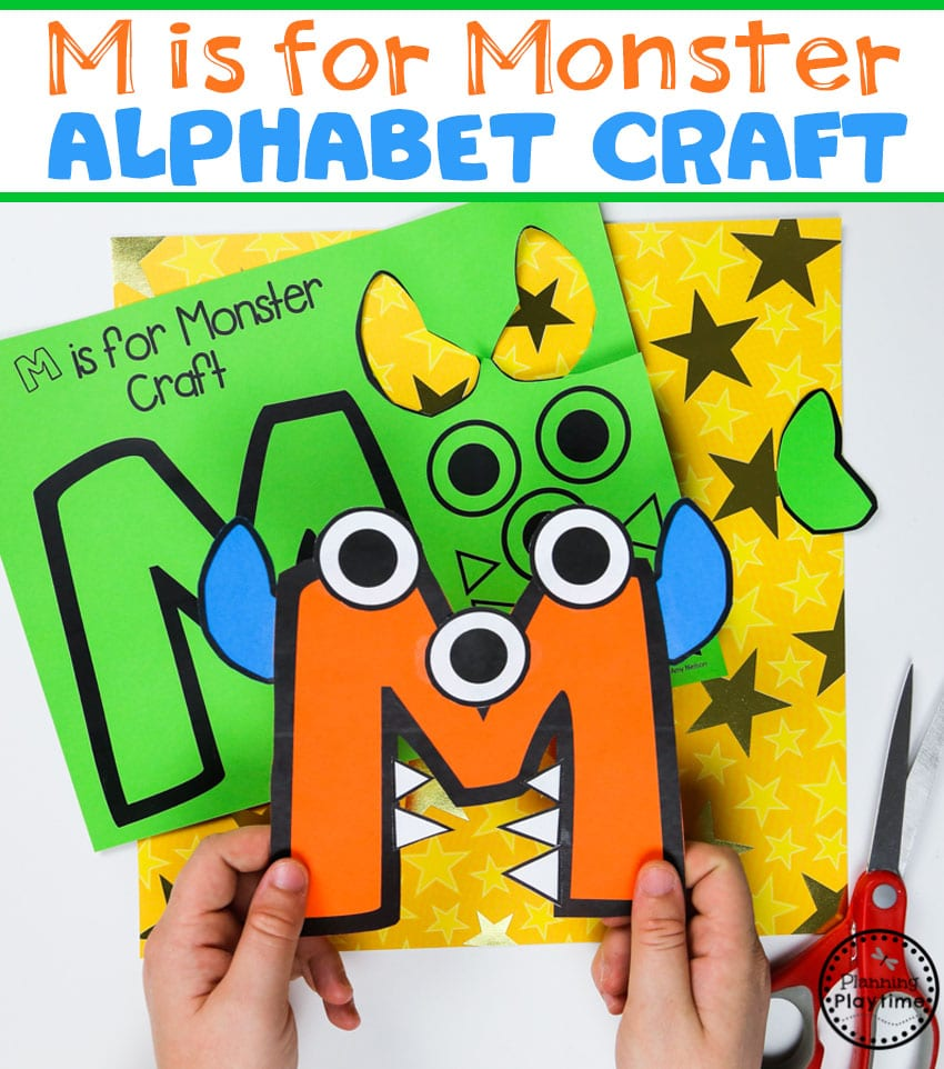 Monsters Theme - Preschool - Planning Playtime