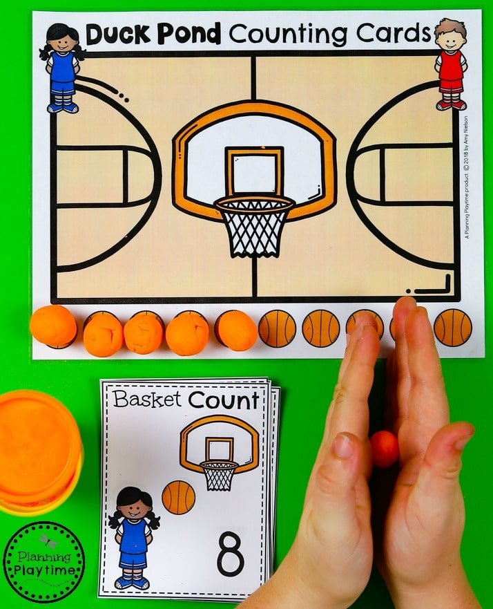 Preschool Counting Games - Preschool Math Unit #preschool #planningplaytime #preschoolmath