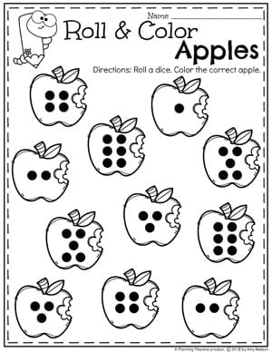 Apple Theme Preschool - Planning Playtime