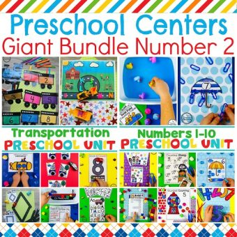 Preschool Unit Bundle #2