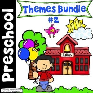Preschool Units Bundle #preschool #planningplaytime