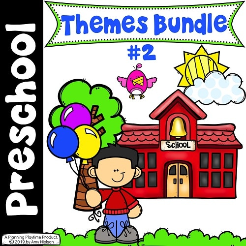 Preschool Units Bundle #preschool #planningplaytime