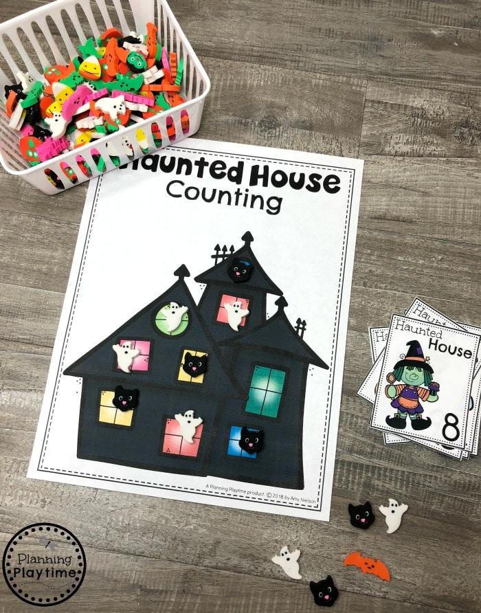 Fun Halloween Counting Activities for Preschool