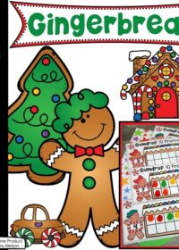 Gingerbread Man Printables for Preschool #gingerbeadtheme #preschoolprintables #preschoolworksheets #gingerbreadworksheets #planningplaytime