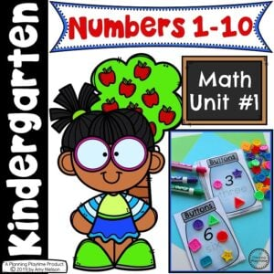 Math Unit 1 Numbers 1-10