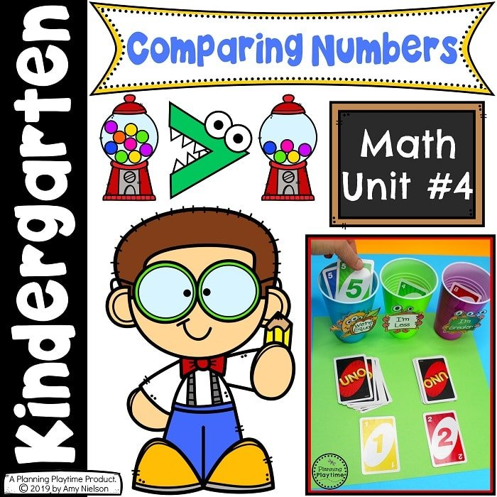 Kindergarten Math - Comparing Numbers