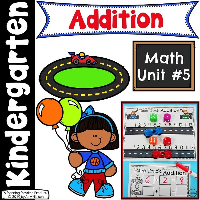Kindergarten Math - Addition