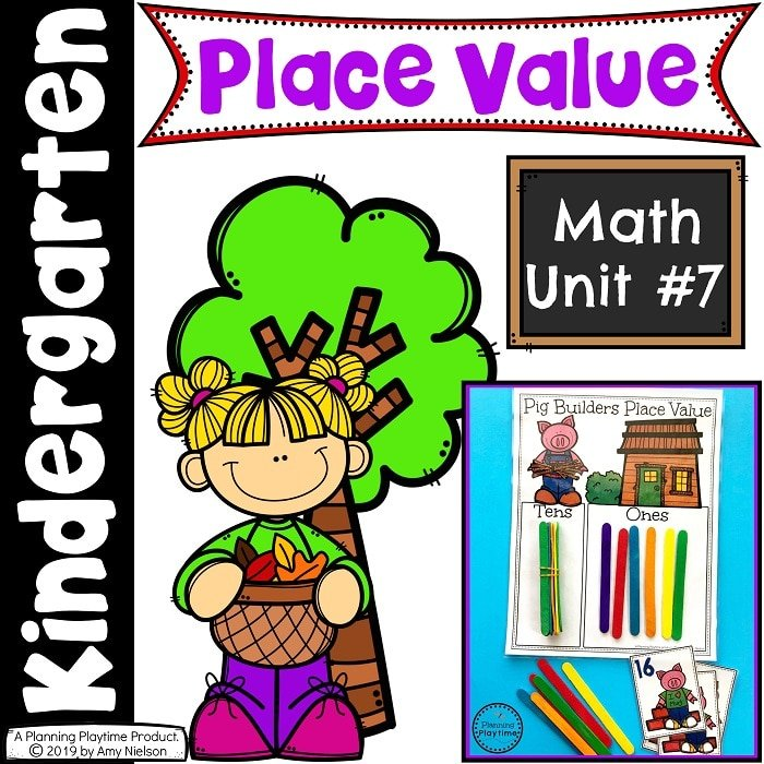 Kindergarten Math - Place Value 11-20