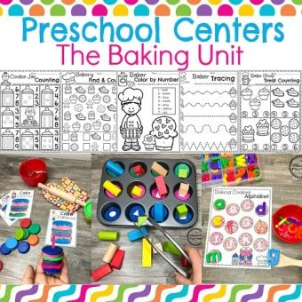 Preschool Cooking Theme