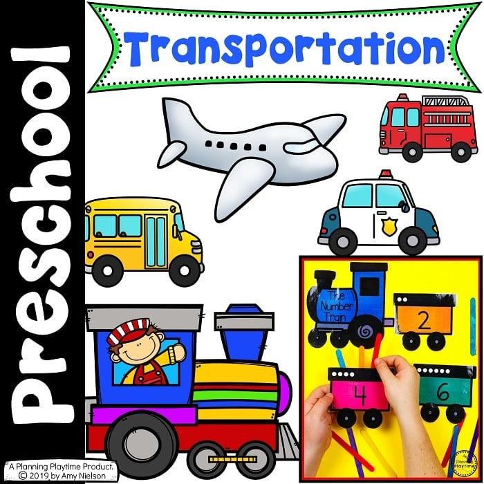 Preschool Transportation Unit - Planning Playtime