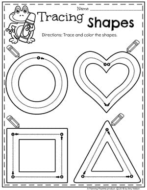 2D Shapes - Planning Playtime