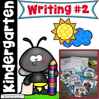 Kindergarten Writing 2 - Telling True Stories and Staying on Topic