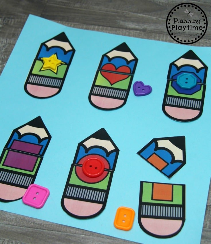 Shape Puzzles for Preschool
