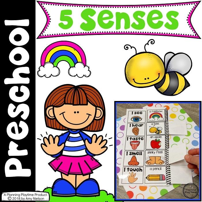 5 Senses Theme for Preschool