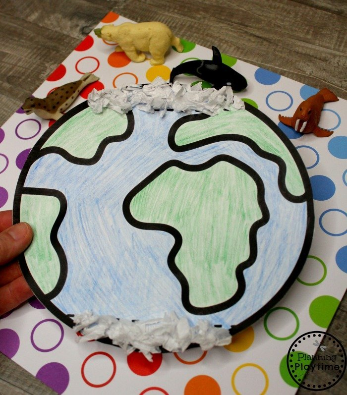 Arctic Regions Craft for Preschool