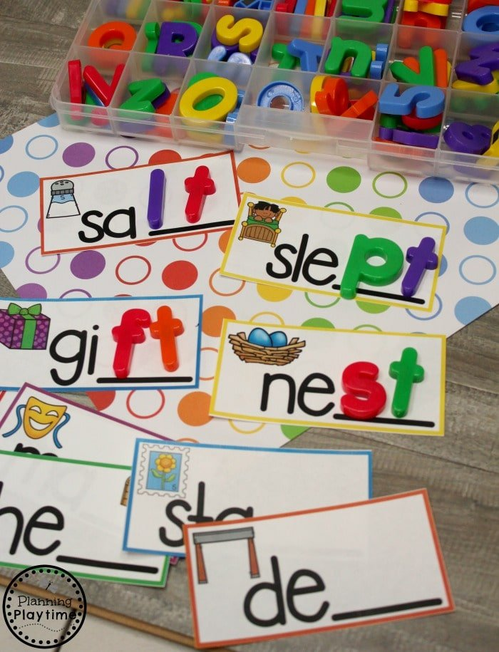 Consonant Digraphs Activities with Blends #digraphs #wordwork #planningplaytime