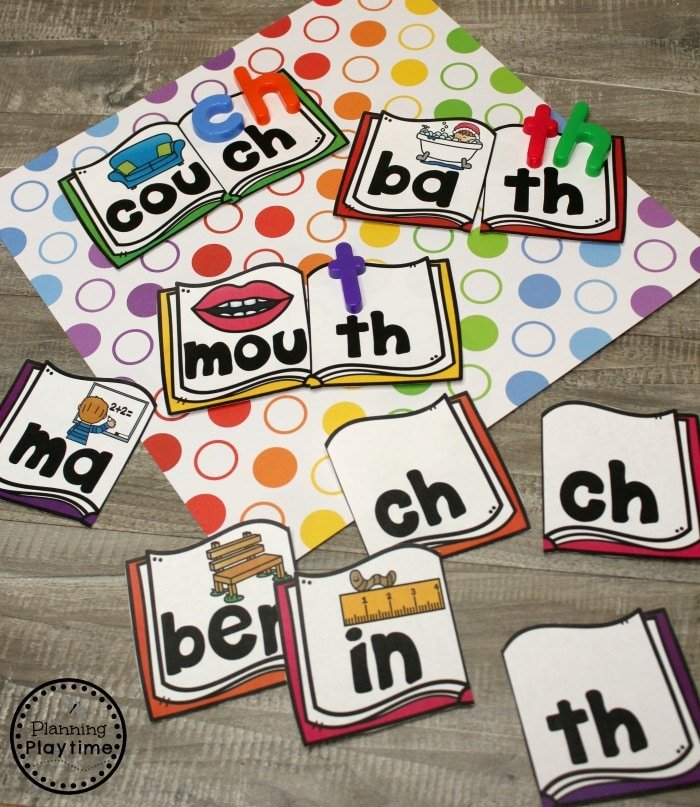 Digraph Puzzles and other fun Digraph Activities #digraphs #wordwork #planningplaytime