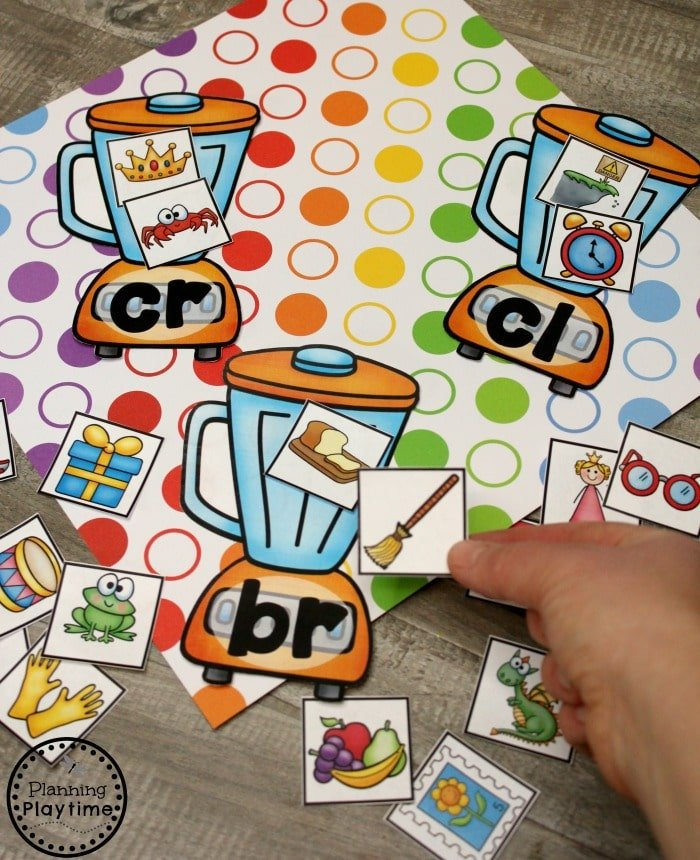 Digraphs and Blends Activities for Kids #digraphs #wordwork #planningplaytime #blends