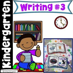 Kindergarten Writing Centers - Story Patterns