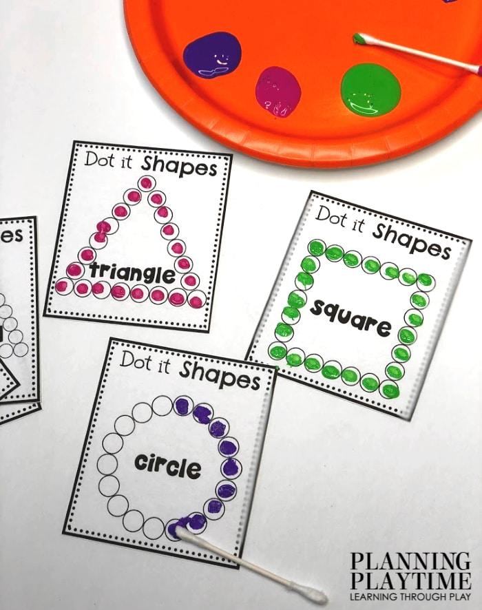Free Preschool Worksheets - Planning Playtime